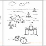 5 רעיונות מדליקים לפעילות דפי צביעה לקיץ ולחופש הגדול