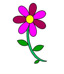 משחק צביעה פרחים במחשב